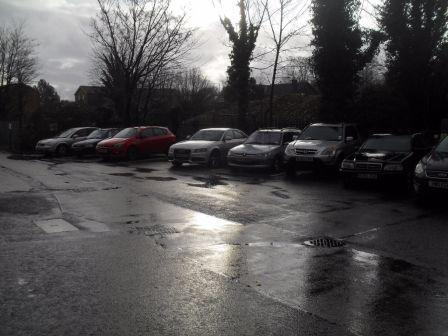TA Lingard Motors Car Parking